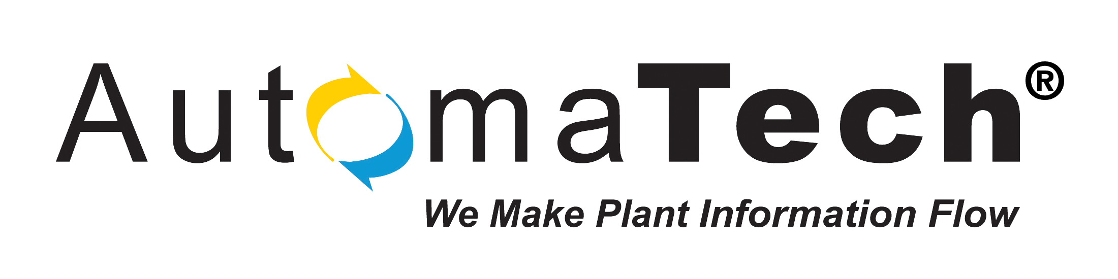 AutomaTech Logo White clear